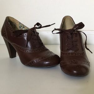 American Eagle Heeled Loafers